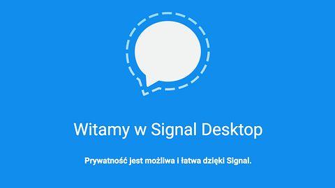 Signal – bezpieczny komunikator w końcu na desktopie