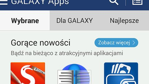 GALAXY Apps zastąpi Samsung Apps