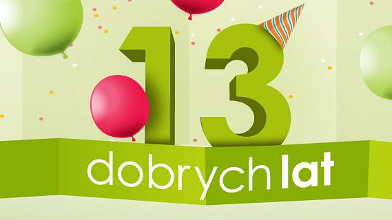 213 nagród na 13 urodziny dobrychprogramów!