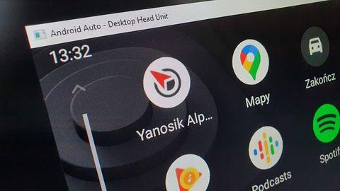 Yanosik w Android Auto najpewniej jeszcze w 2021r. System finalnie otwarty na nowe aplikacje