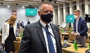 Sejm. Marian Banaś przegrywa na komisji