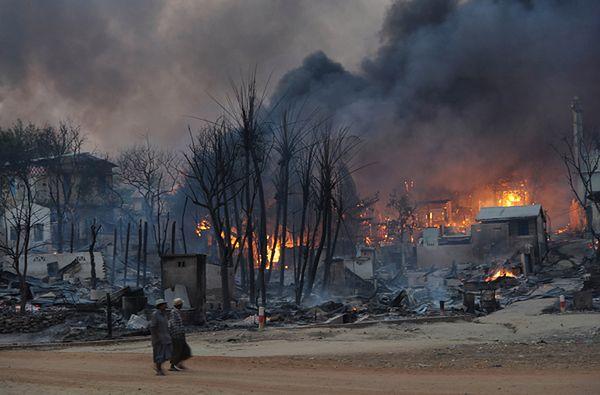 Birma: muzułmanie skazani za udział w starciach na tle religijnym