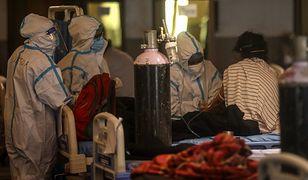 Indyjski wariant koronawirusa jest jak ogień. Niepokojące informacje