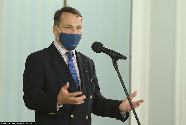 Radosław Sikorski nie dostał oferty z Radia Maryja