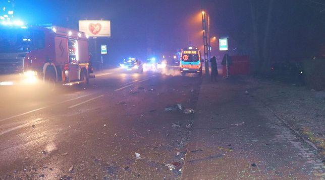Śląskie. W wypadku na DK 94 w Bytomiu zginął 22-letni kierowca volvo.