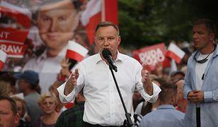Wybory 2020. Andrzej Duda odwiedził Nową Sól
