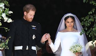 Meghan Markle i książę Harry pobrali się 19 maja 2018 r.