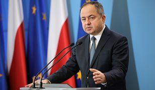 Łamanie zasad praworządności. Wysłuchanie Polski na agendzie Rady UE / Na zdjęciu Konrad Szymański, minister ds. Unii Europejskiej