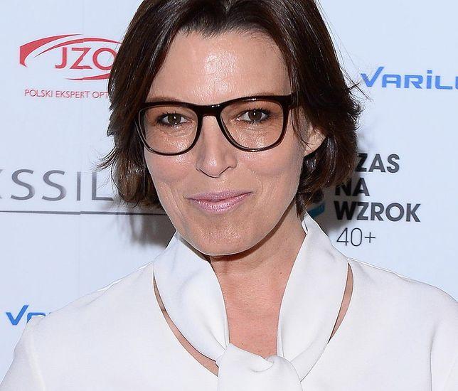 Ilona Felicjańska zgłosiła się na odwyk.