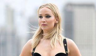 Jennifer Lawrence na premierze nowego filmu