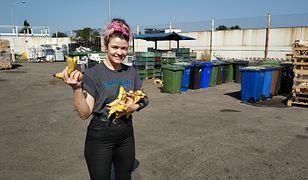W śmietnikach najłatwiej było znaleźć owoce i warzywa.