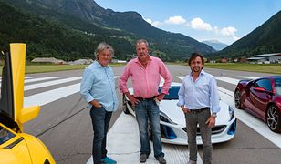 Od lewej: James May, Jeremy Clarkson i Richard Hammond.