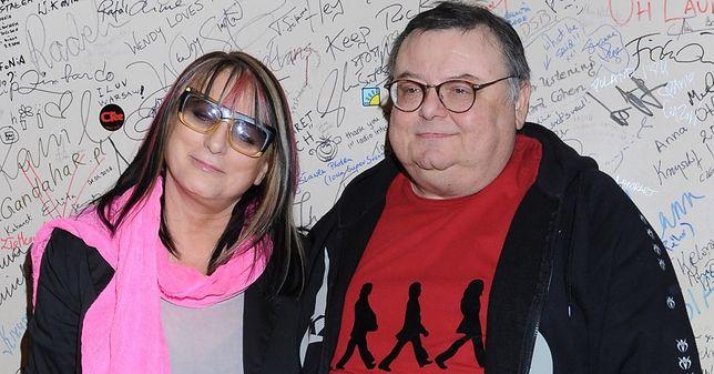 Magda Jethon i Wojciech Mann przez wiele lat pracowali w radiowej Trójce.
