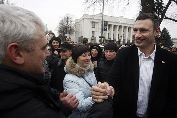 Witalij Kliczko potwierdza chęć startowania w wyborach prezydenckich