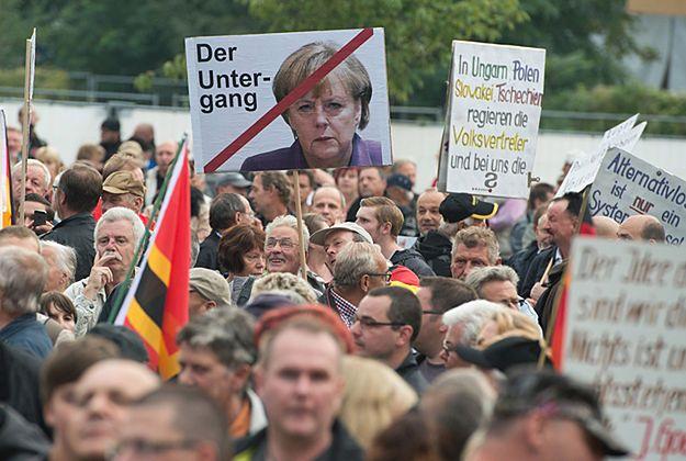 Ponad 5 tys. osób demonstrowało w Dreźnie przeciwko islamowi