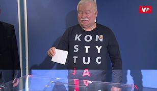 Lech Wałęsa zagłosował w II turze wyborów samorządowych