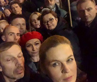 Joanna Lichocka uderza w posłów PO. Podpisali się na liście obecności i poszli na protest