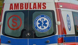 Bydgoszcz: zderzenie tramwaju i trzech aut. Są ranni