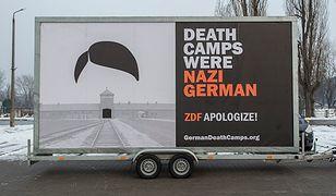 """Kłopoty organizatorów akcji """"German Death Camps"""""""