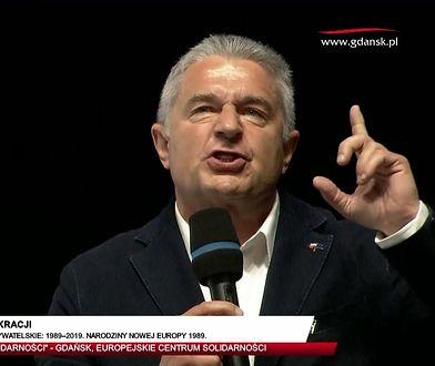 """Gdańsk. 4 czerwca. Frasyniuk grzmiał o PiS-ie. Potem wszyscy krzyczeli: """"My wolni ludzie"""""""