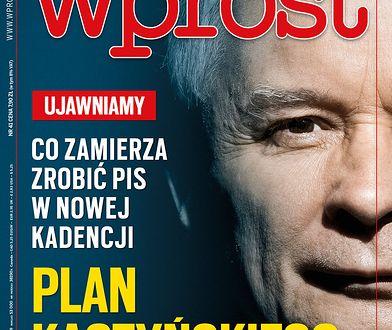 """Prezes PiS na okładce """"Wprost"""""""