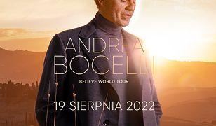 Koncert Andrei Bocellego na PGE Narodowym odbędzie się w przyszłym roku
