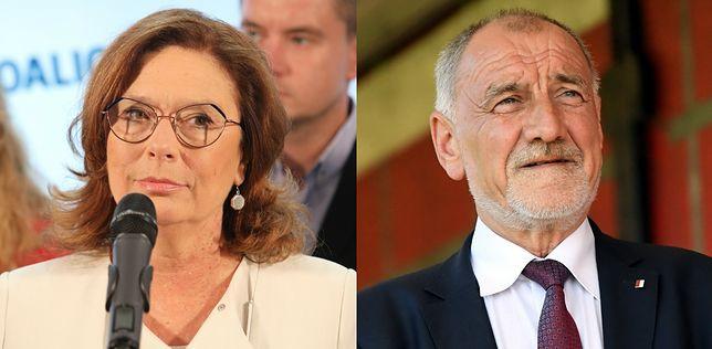 Wybory parlamentarne 2019. Małgorzata Kidawa-Błońska i Jan Duda