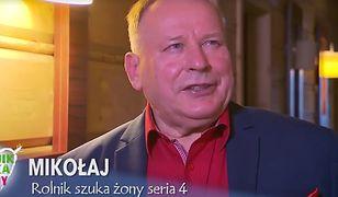 """Szampan w Puszczy Białowieskiej. Mikołaj z """"Rolnik szuka żony"""" zaręczył się z młodszą o 33 lata ukochaną"""