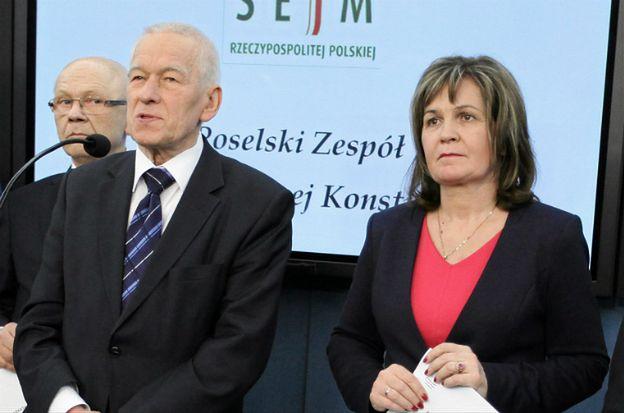 Małgorzata Zwiercan przyznała się, że głosowała za Kornela Morawieckiego. PO: sprawa dla prokuratury