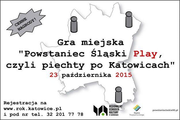 Gra miejska w Katowicach z okazji obchodów 95. rocznicy II Powstania Śląskiego