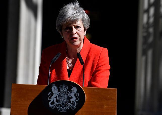Theresa May zrezygnowała z funkcji szefa Partii Konserwatywnej