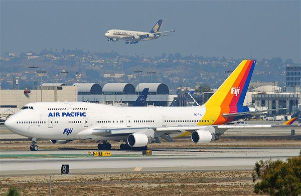 Miejsce 4: 624 pasażerów - Boeing 747-400