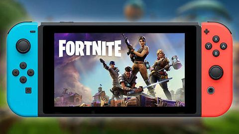 Breath of the Wild? Mario Kart? Minecraft? Nie, najpopularniejszą grą na Switchu jest Fortnite