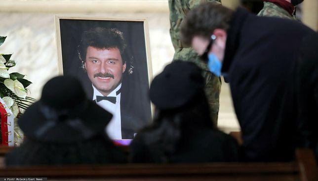 Trwa pogrzeb Krzysztofa Krawczyka