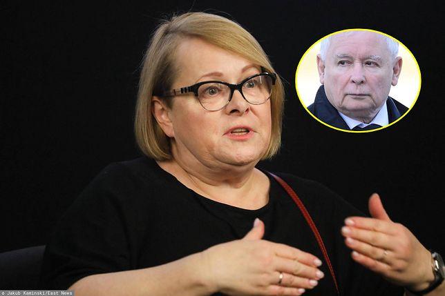 Ilona Łepkowska zwróciła się do Jarosława Kaczyńskiego.
