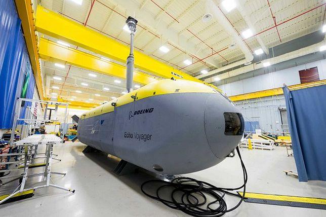 Największy producent samolotów stworzył... łódź podwodną! Boeing Echo Voyager