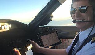 Jon Emerson jest pilotem SkyWest Air
