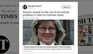 Sędzia Aileen Donnelly została zaproszona do Polski