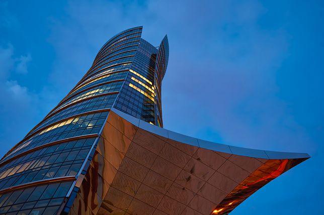 Warsaw Spire to najwyższy obiekt biurowy w Warszawie