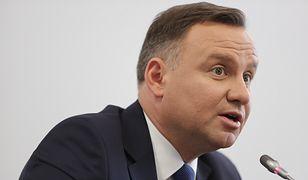 Prezydent Andrzej Duda przeprasza: to był błąd