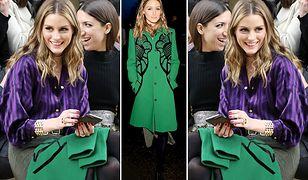 LOOK OF THE DAY: Olivia Palermo w płaszczu Elie Saab