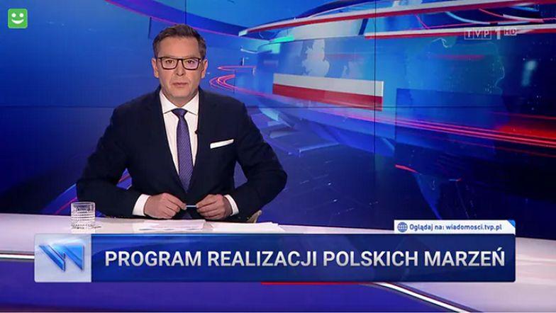 """""""Wiadomości"""" TVP o pochwale od Niemców. Pominęli ważny szczegół"""