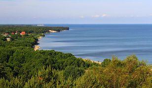 Widok na Morskoje na Mierzei Kurońskiej