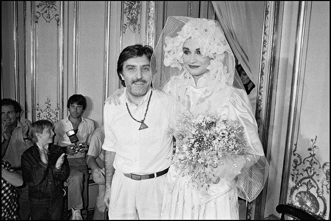 Emanuel Ungaro na pokazie mody w Paryżu w 1981 roku