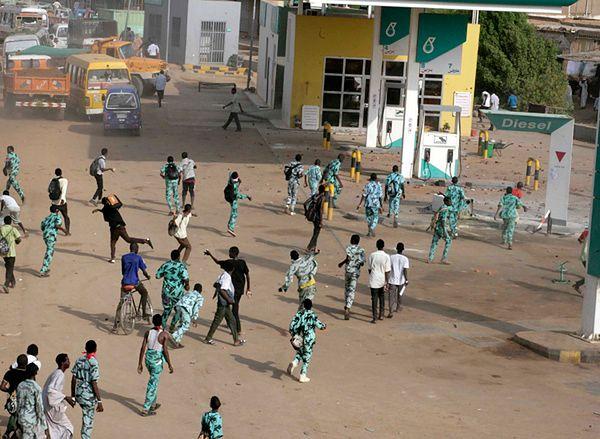 Protesty w Omdurmanie