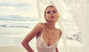 Skandynawska piękność uwodzi w kampanii biżuterii