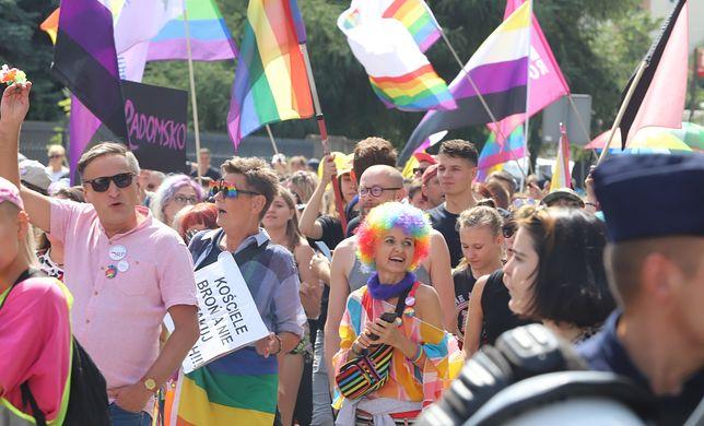 Przez Radomsko przeszedł pierwszy Marsz Równości.