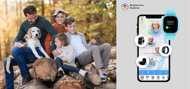 Kochasz? Chroń. Aplikacja Bezpieczna Rodzina i zegarek GPS dla dziecka GJD.06 Locon