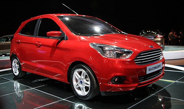 Ford Ka Concept: nowe wcielenie