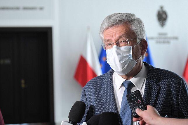 Stanisław Karczewski rezygnuje z funkcji wicemarszałka Senatu. Szczegóły decyzji na konferencji prasowej